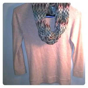 Sweaters - A sweater with scarf